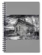 Dreary Dark And Gloomy Spiral Notebook