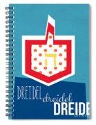 Dreidels Spiral Notebook