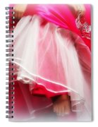 Dress - Gown - Pageant Spiral Notebook