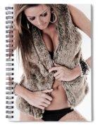Dress Sexy Spiral Notebook