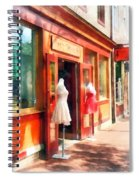 Dress Shop Fells Point Md Spiral Notebook