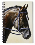 Dressage Horse - Concentration Spiral Notebook