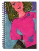 Dressed Up And Going Out Spiral Notebook