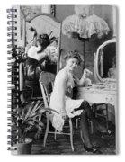 Dressing Room, C1900 Spiral Notebook