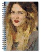 Drew Berrymore Spiral Notebook