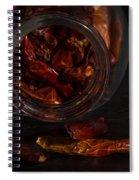 Dried Chilli Spiral Notebook