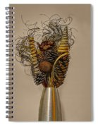 Dried Flowers Spiral Notebook