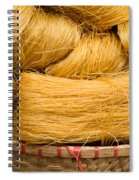 Dried Rice Noodles 04 Spiral Notebook