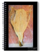 Dried Salted Codfish Front Spiral Notebook
