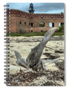 Drift Wood Seal Spiral Notebook