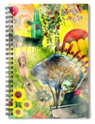 Drifting Away Spiral Notebook