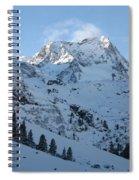 Drifting Snow Spiral Notebook