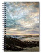 Driftwood Sunset Spiral Notebook