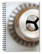 Drill Head Spiral Notebook