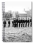 Drilling Soldiers Jefferson Barracks Us Army C 1895 Spiral Notebook