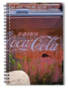 Drink Coca Cola Spiral Notebook