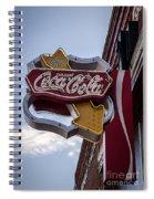 Drink Coca Cola Sign Spiral Notebook