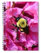 Drinking Nectar Spiral Notebook