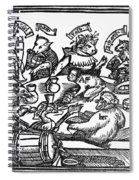 Drinking Party, 1516 Spiral Notebook