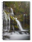Dripping Wet Spiral Notebook
