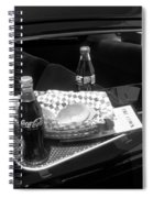 Drive-in Coke And Burgers Spiral Notebook