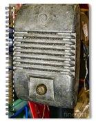 Drive In Movie Speaker Spiral Notebook