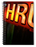Drive Thru Spiral Notebook