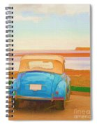 Drive To The Shore Spiral Notebook