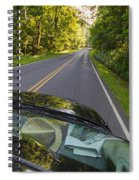 Drive To Vacation Spiral Notebook