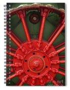 Drive Wheel Spiral Notebook