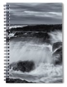 Driven By The Storm Spiral Notebook