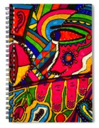 Driven To Abstraction - Parts And Pieces Spiral Notebook