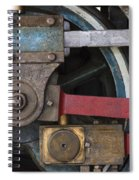 Drivin' Wheel Spiral Notebook