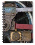 Drivin' Wheel Spiral Notebook