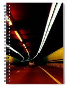 Driving In Boston Spiral Notebook