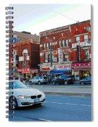 Driving Through Chinatown Spiral Notebook