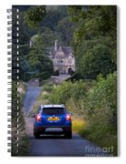 Driving To Manor House Spiral Notebook