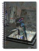 Droid Discovering A Weapons Cache Spiral Notebook