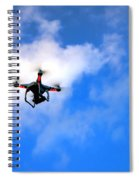 Droning Spiral Notebook