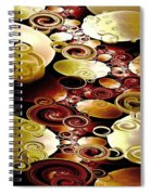 Drops And Ripples Spiral Notebook