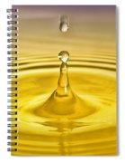 Drops2 Spiral Notebook
