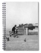 Drought Dust Storm, 1936 Spiral Notebook