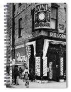 Drug Store, 1890s Spiral Notebook