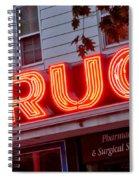 Drugs Spiral Notebook