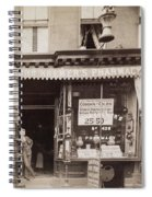 Drugstore, 1890 Spiral Notebook