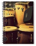 Drum Beat Spiral Notebook