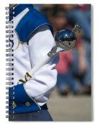 Drum Major Baton Spiral Notebook