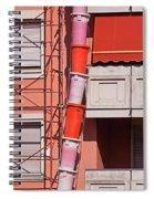 Drum Snake Spiral Notebook