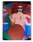 Drummer Spiral Notebook