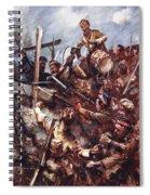 Drummer W. Ritchie Standing Spiral Notebook